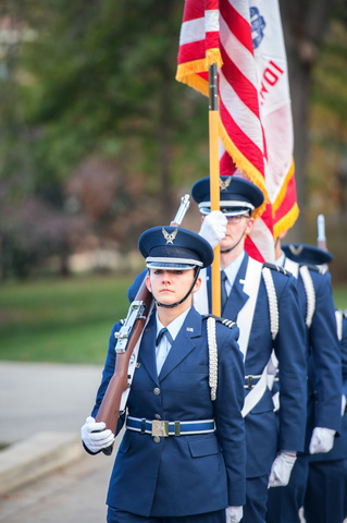 Air Force ROTC Formation